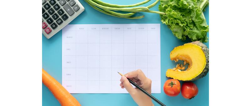摂取カロリーと消費カロリーの関係