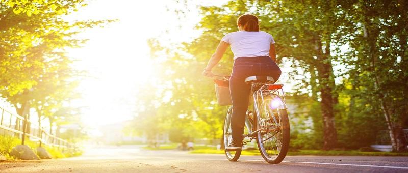 自転車に乗りながら効率的にダイエット