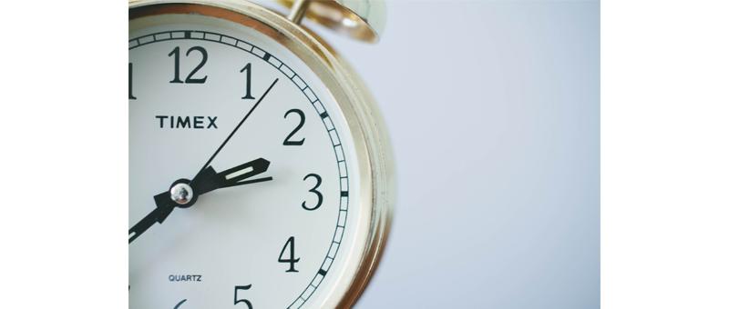 睡眠時間が極端に短い