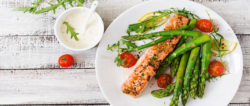 3食きっちり食べる食事指導