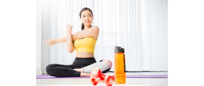 適度な運動&バランスの良い食事をセットに!