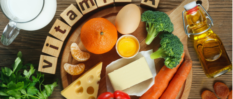 ビタミンと鉄分