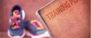 スニーカーとトレーニングジム