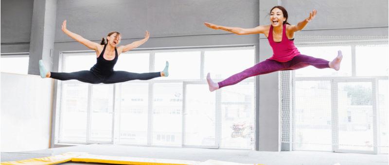 【自宅で痩せる!】トランポリンダイエットの効果的な方法5選!家でやれる飛び方を徹底解説!
